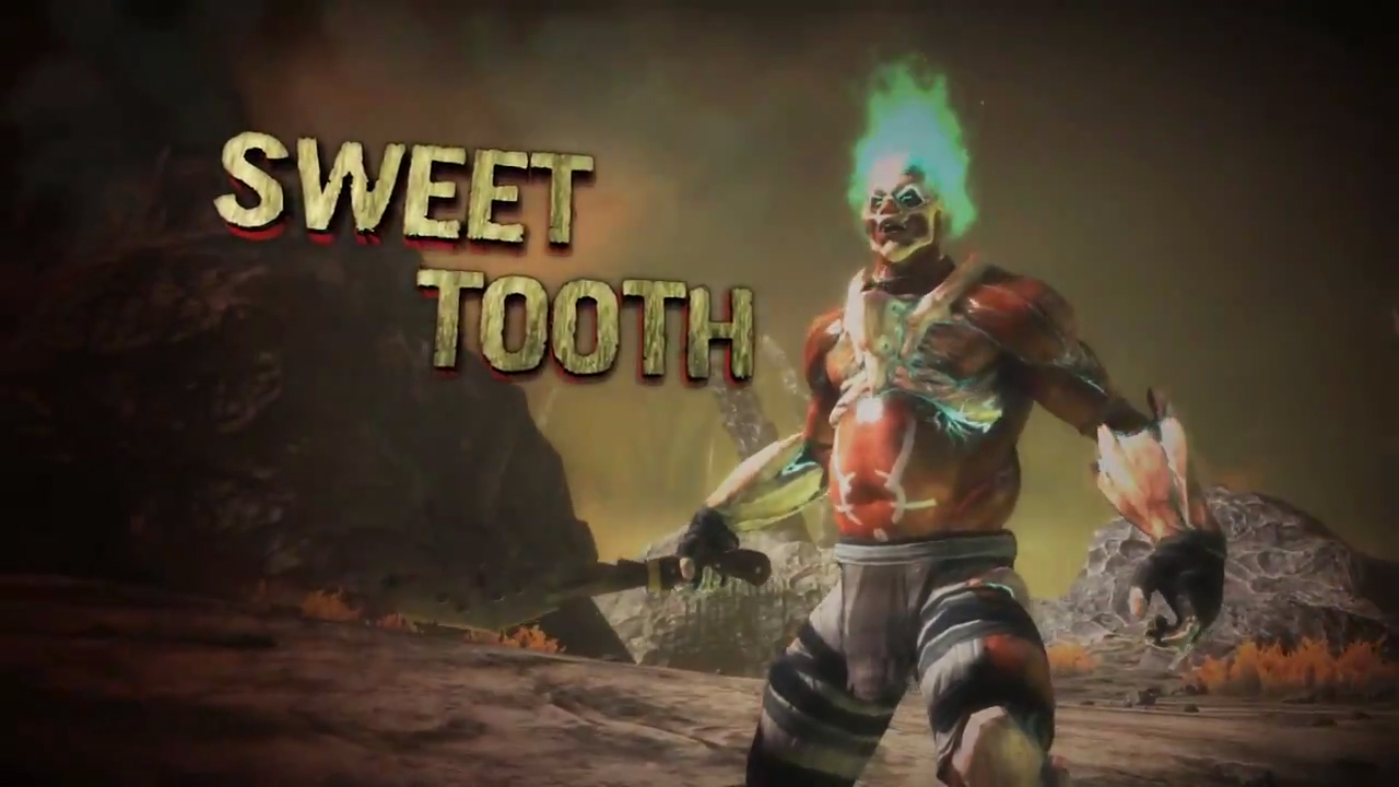 twisted metal 2012 sweet tooth ending relationship