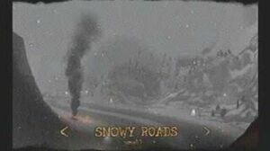 """Twisted Metal Black OST """"Snowy Roads"""" complete theme"""