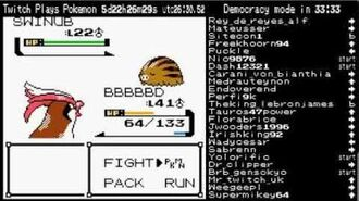 Eevee evolves into Espeon - Twitch Plays Pokemon Official Highlights Generation 2