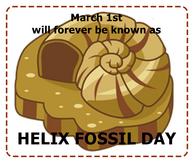 HelixFossilDay