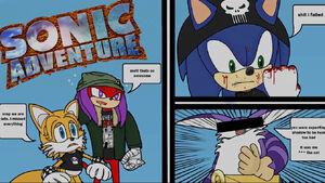 Sonic Adventure Title