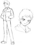 Enjou Tomoe early sketch