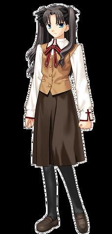 File:Tohsaka rin school uniform.png