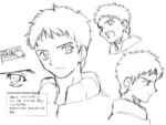 Enjou Tomoe sketch