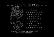 U1 Title Atari8bit