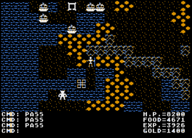 File:UltimaII Atari8bit.png