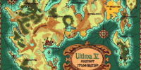 Ultima V Map of Britannia