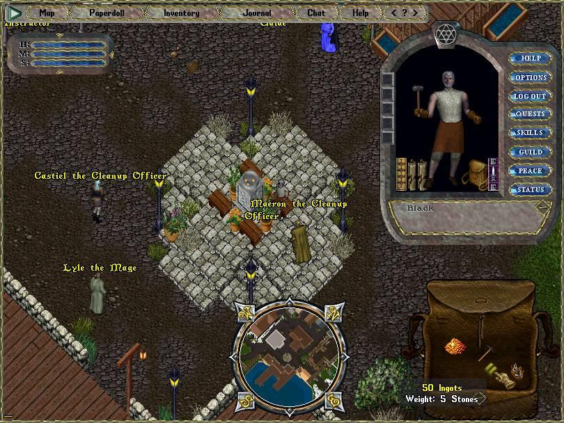 CC game window
