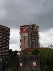 Shawbridge Flats Demolition