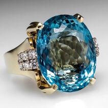 Lucy's Aquamarine Ring