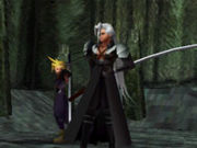Sephiroth battle appearance