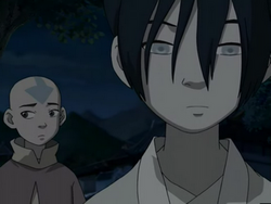 Aang and Toph