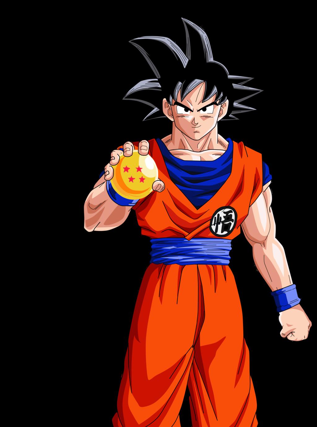 Goku render by aliensurxx- Goku