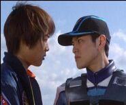 When Musashi first meets Fubuki