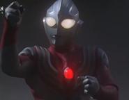 Tiga's color timer start to blinking