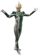 Ultraman Zero Mirror Knight Render