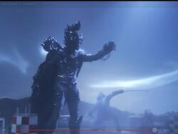 Hikari sliced another wound in Empera before disappearing.