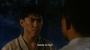 Katsuto after learns the kick