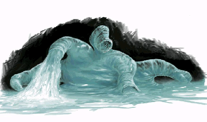 Water monster