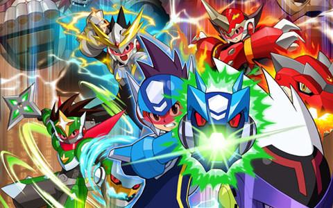 Todos los Megaman para DS - Identi