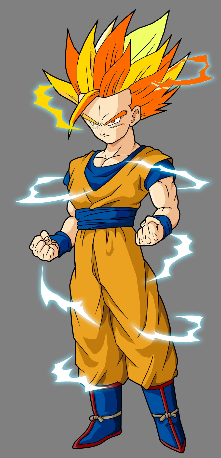 Ultimate super saiyan 2 ultra dragon ball wiki fandom - Super sayenne ...