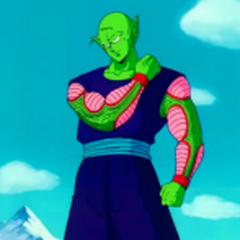 Piccolo prepares to fight Raditz