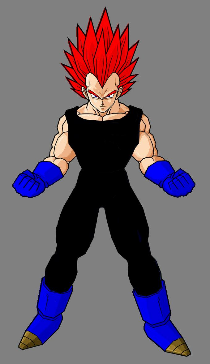 Goku vs broly fan animation - 4 1