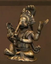 File:Bronze Ganesh Statue.PNG