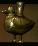 Golden Bird Vessel