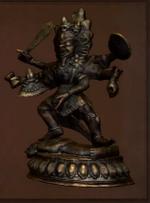 Wrathful Deity Statue