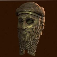 File:Uncharted 3 Treasure Akkadian Statue Head image.jpg