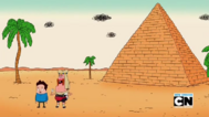 Uncle Grandpa, Belly Bag, and Dennis 13