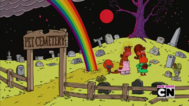 Uncle Grandpa, Belly Bag, Mr. Gus, and Pizza Steve in Tiger Trails 16