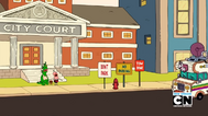 Mr. Gus, Uncle Grandpa, Belly Bag, and Pizza Steve in Ballin 33