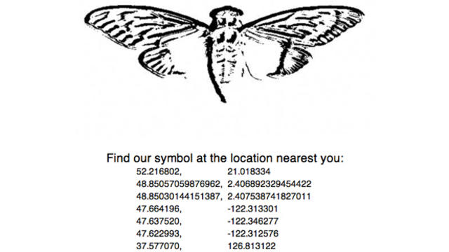 Cicada list of sites