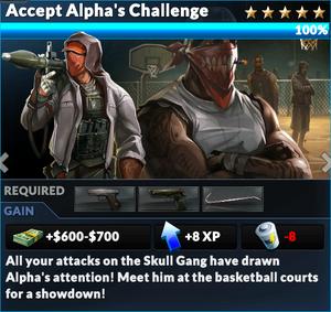 Job accept alphas challenge