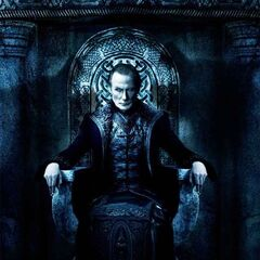 Underworld: Rise of the Lycans poster featuring Viktor.