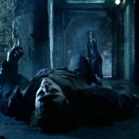 Trix being killed by Selene.