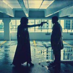 Selene confronts Sebastian.