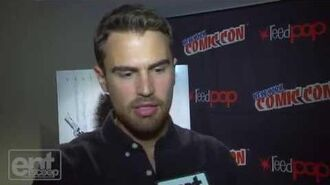 Theo James Talks Funniest Moment At ComicCon
