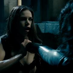 Grushenka being attacked by Selene