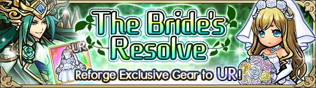 The Bride`s Resolve