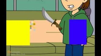 Caillou Pees on the Teacher and Gets Assaulted