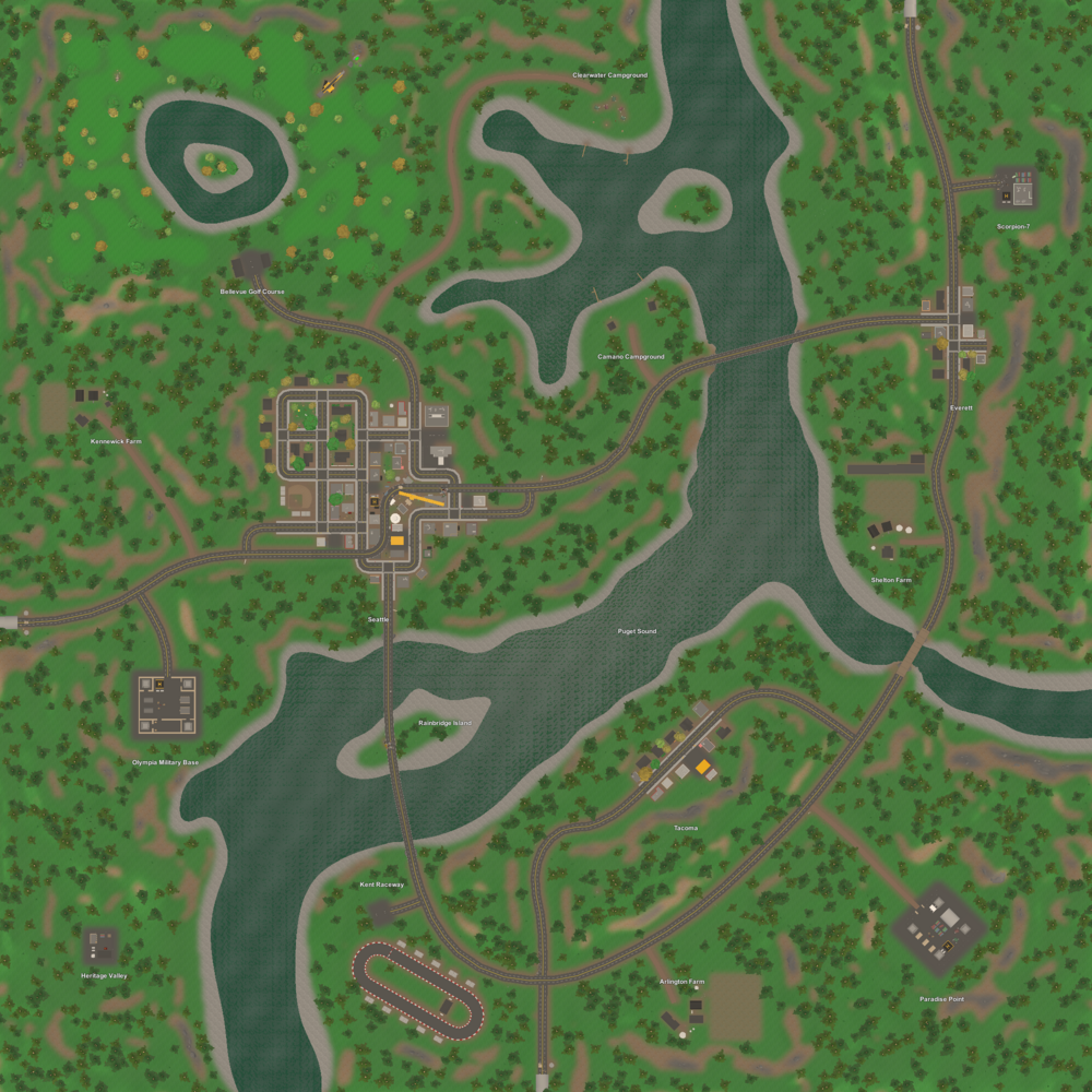 Unturned Maps