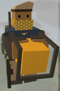 Player holding Generator