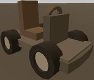 1 Seater Makeshift Vehicle