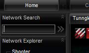 Tunngle search bar