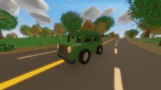 Forest Humvee