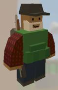 Player wearing Black Cap