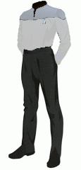 Uniform duty white senior cpo